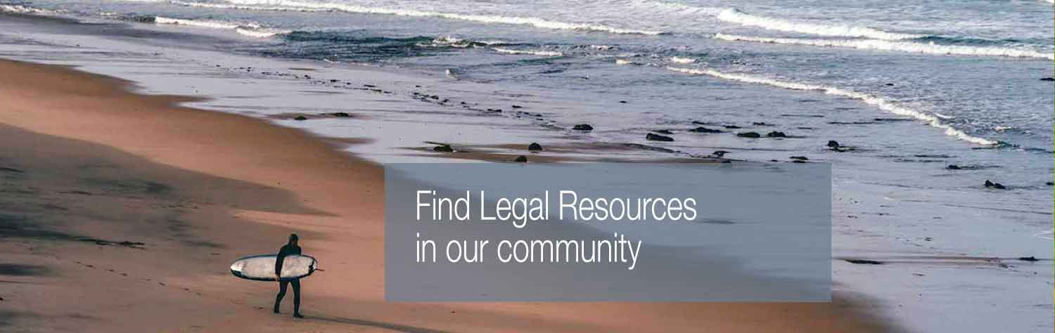 Find Legal Resources in our community